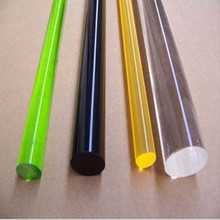 OD25x1000mm Acrylic Rod Clear Color (Extruded) Plastic Transparent Bar Home LED Decor Improvement Aquarium Perspex Furniture