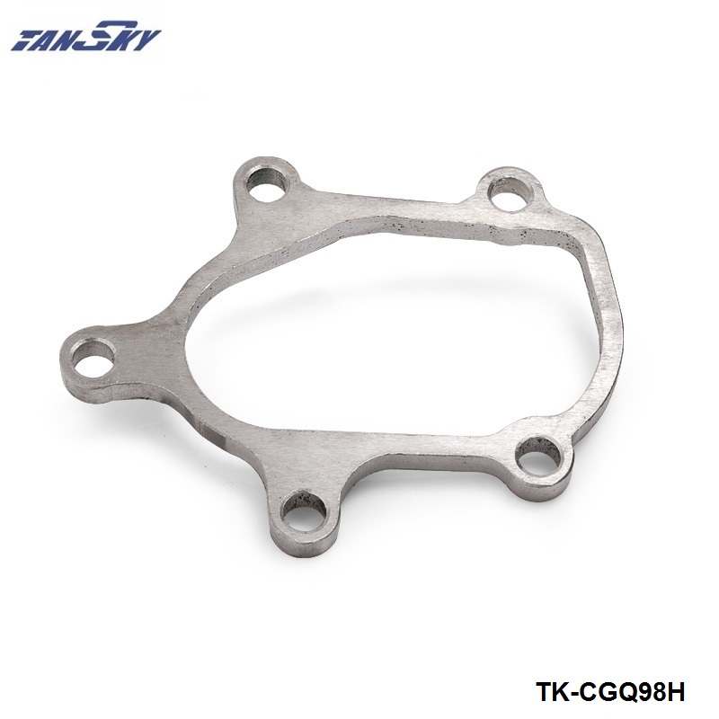 "TANSKY -  TB28 Downpipe Flange fits knock-off ebay turbo 2.5"" OD Imported Turbocharger T28 TK-CGQ98H"