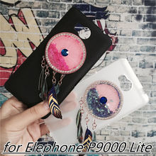 Buy Newest Colorful Case Cover Elephone P9000 Lite Capa Fundas Dynamic Liquid Glitter Quicksand Soft TPU Jewelled Unicorn for $4.01 in AliExpress store