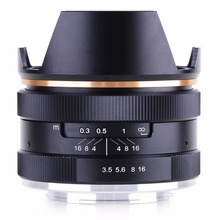 Buy Kaxinda 14mm F3.5 APS-C Manual Focus Lens Canon EF-M Mount Lens EOS M M2 M3 CAMERA for $100.23 in AliExpress store
