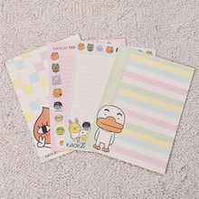 Freeshipping Cartoon anime animal pattern printing envelope letter paper set