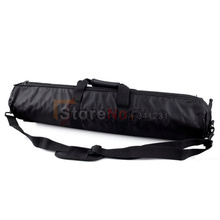 60cm Padded Camera Monopod Tripod Carrying Bag Case with Shoulder strap For Manfrotto GITZO SLIK Free shipping(China)