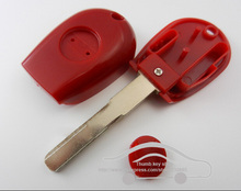 Replacement Car Key Blanks Cover For 2000-2004 Alfa Romeo 166 With SIP16 Blade Transponder Key Shell FOB