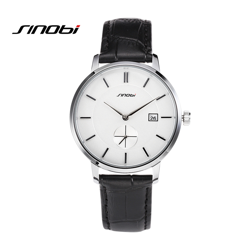 SINOBI Couples watches High Quality Brand New Relojes Hombre 2017 Brown Casual Outdoor Waterproof Man Watch Lovers Wrist Watch<br><br>Aliexpress