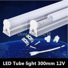 T5 LED Tube Light 12V 5W Explosion-proof Energy-saving LED Fluorescent Lamp 30cm 2835SMD T5 lamp 4PCS/LOT