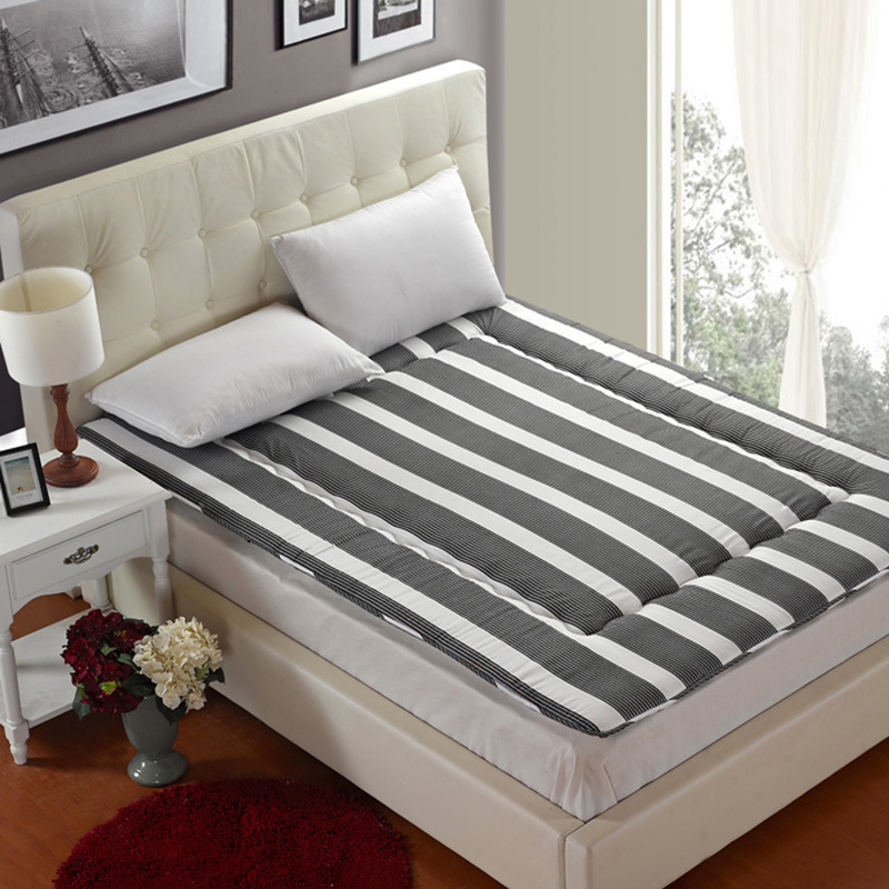 SongKAum Contracted Design Comfortable Mattress Thick Warm Foldable Single Or Double Mattress Fashion NEW Topper Quilted Bed<br>