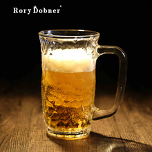 Beer Mug Glass Beer Glass Creative Home Glass Cup Small Fine Brewing Beer Cup Valentine Mugs Glass Pint Small Brewed Beer G411