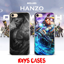 Ow Games Heroes HANZO GENJI D.va REAPER New Coque Phone Case Cover Shell For Apple iPhone 7PLUS 7 6SPLUS 6S 6PLUS 6 5 5S SE 4 4S