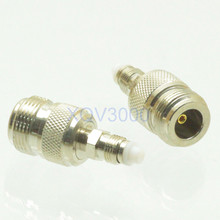 1pce Adapter converter N female jack to FME female jack pin RF COAXIAL for Radio Video BN25