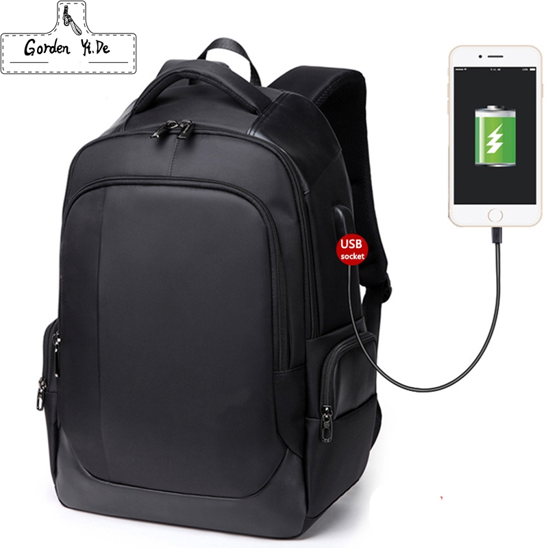 Brand Design Mens Travel Backpack For 15.6 inches Laptop Backpack Polyester Waterproof Shoulder Bags Computer Mochila Wholesale<br>