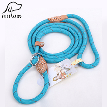 [GIIWIN] Pet Products For Large Dog Leash Collar Harness Puppy Cat Accessories Breakaway Pet Dog Leash Lead Basic Collars py0237(China)