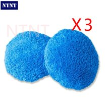 NTNT Free Shipping 6 pcs/3 double Set Blue hobot168 hobot188 window cleaning robot cleaning cloth