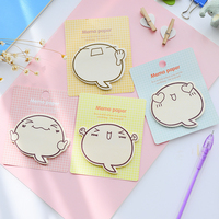 New Cute Korean Office Supplies Stationery Sticker Scrapbooking Totoro Planner Stickers Sticky Notes Memo Pad Sticky Markers