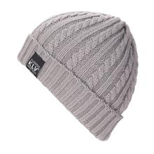 2016 New Brand Hat Men Women Baggy Knitted Wool Crochet Winter WarmSki Beanies For Female Male Solid Skull Slouchy Caps
