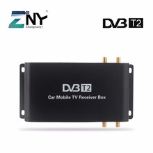 H.265 Car DVB-T2 Digital TV Box For England Germany Italy Support 200KM/H Speed Driving Digital Car TV Tuner HD 1080P(Hong Kong)