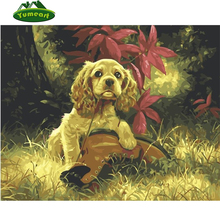 5D Diy Diamond Painting Pets Dog and Shoes Diamond Embroidery 100% Full Square Drills Oil Painting Animals Cross Stitch Kits