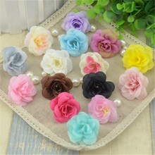 20pcs 12 Color 4.5cm Mini Tea Rose Diy Artificial Rose Silk Flowers Heads For Home Wedding Decoration Scrapbooking Flower Heads
