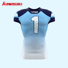 Kawasaki Brand Professional Custom American Football Jerseys Mens Breathable Training  Football Suits Sports Team Wear