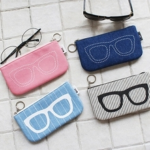 Felt glasses packed box  factory direct  student glasses case  glasses bag  Stylish simplicity 19CM*7CM Free Shipping