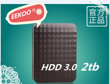EEKOO 2TB hard drive three years of high quality warranty M3 external hard disk 2000 g mobile hard disk 1 TB USB 3.0 100% origin
