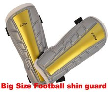 Big size sports soccer football high-strength Shin Guard lower leg calf protector for adults(China)