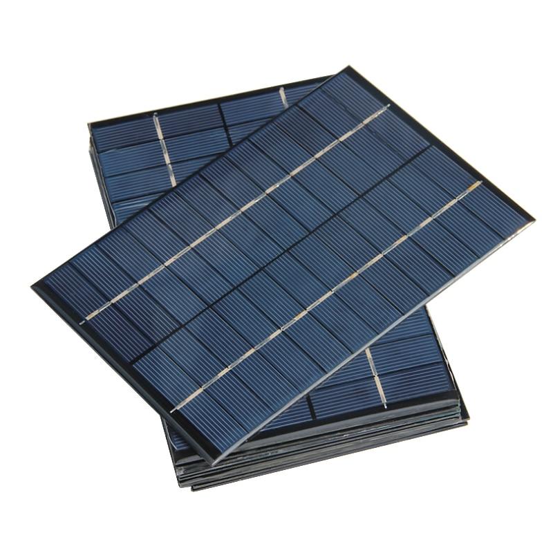 Aoshike 4.2W 12V Solar Panel Polycrystalline 0*130mm Solar Cell Battery Module Polycrystalline DIY Solar Power System 4