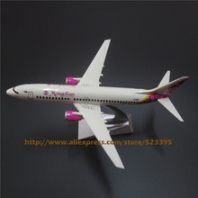 16cm Resin Airplane Model Air Mongolian Airlines Boeing 737 B737 700 Aircraft Airways Plane Model W Stand Kids  Gift