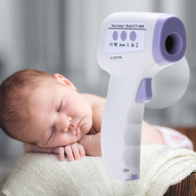 Baby Thermometers Kids Non-contact Temperature Gauge LCD Digital Infrared Thermometer Smart LCD Screen Display Convenient