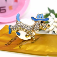 ANZULWAN Wear Hat Dog Car Perfumes Air Outlet Vent Outlet Air Freshener 100 Original Fragrance Alloy Car Styling Accessories