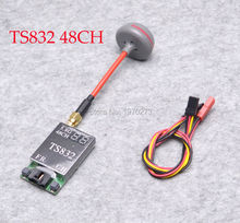 48 Channels TS832 5.8G 600mW Wireless AV Image Transmission Transmitter TX + Fatshark RP-SMA Antenna For FPV RC Quapcopter