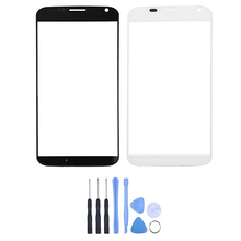 For Motorola Moto X Phone XT1055 XT1058 XT1060 Front Touch Screen Outer Glass Lens Panel Replacement +Tools With Tracking Number(China)