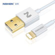 Original NOHON 8 Pin USB Cable For Apple iPhone 7 6 6S Plus 5 5S SE iPad 4 Air 2 iPod Nano Fast Charging Data Sync Cable(China)