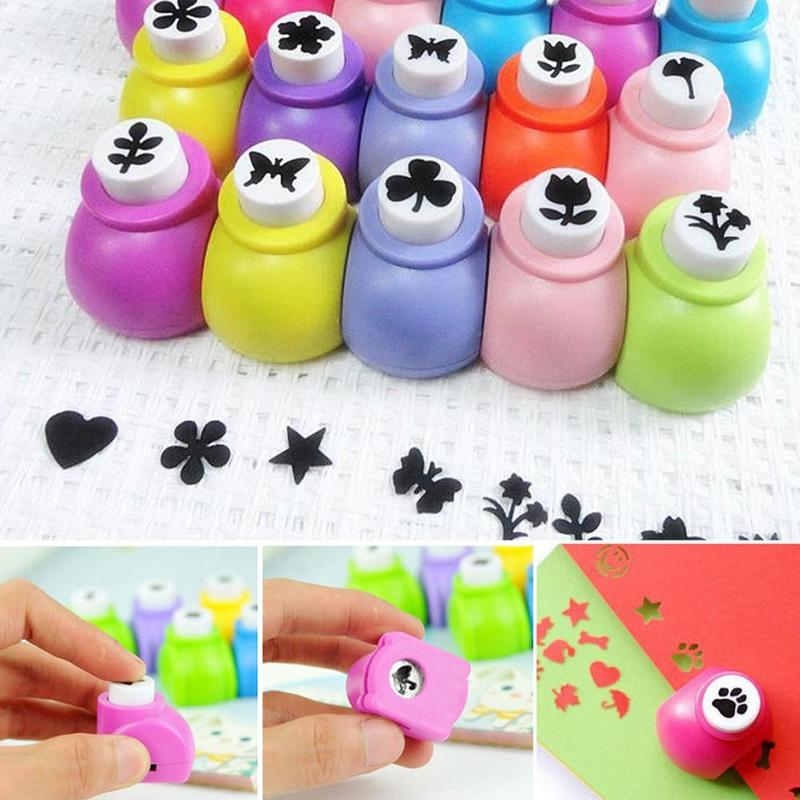 Various Cute Card Hobby Craft Handmade Paper Hole Shapers Small Puncher DIY Gift