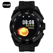 NEW  CONGDI X4 Smart phone watch Heart Rate Step counter Stopwatch Ultra thin Bluetooth Wearable Devices Sport For IOS Android
