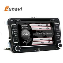 "Eunavi 7 "" 2din Car DVD for VW GOLF 5  6 POLO PASSAT CC JETTA TIGUAN TOURAN EOS SHARAN SCIROCCO TRANSPORTER T5 CADDY with GPS"