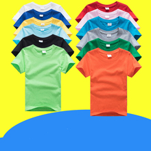 New Summer Custom T Shirt Kids Clothing Short Sleeve Printed Custom T-shirt DIY Design Tee Shirts Children's wear