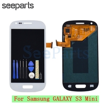 For Samsung Galaxy S3 Mini i8190 I8190N I8195 i8200 LCD Display Touch Screen Phone Digitizer Assembly S3 Mini Replacement Parts(China)