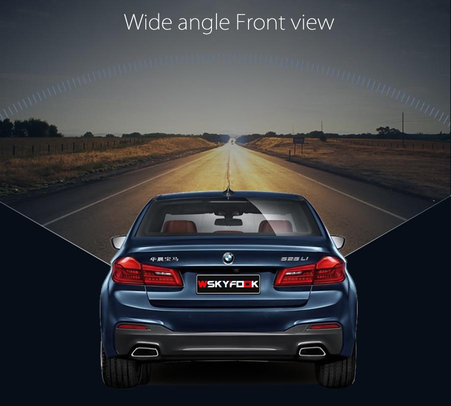 CCD Car Front View vehicle Logo Camera for Audi A6L Q5 Q7 Q3 A4L A4 b8 front logo camera Brand Mark Camera PAL/NTSC 2