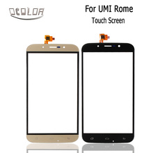 For UMI ROME ROME X Touch Screen Touch Panel Glass For Cell phone 5.5 Inch Two Colors Phone Repair(China)