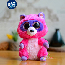 5'' ty beanie boos plush lovely red panda doll small red panda plush toys gift plush raccoon stuffed toys(China)
