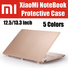 Emotal Ultra thin Full Coverage PC Hard Crystal Matte Frosted Transparent Laptop Cover For Xiaomi Mi Notebook Air Case 12.5 13.3