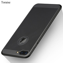 Toraise For iPhone 7 Case Luxury Full Body Hard Frosted PC Back Cover Case for iPhone 7 7 Plus Hollow Cooling Thin Case(China)