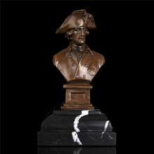 100% pure copper Bronze figures King Friedrich of Prussia decoration accessories chef decorations kitchen office artwork