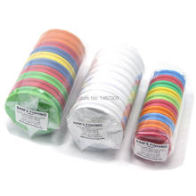 EVA Round Rig Foam Winder Spools Board Bobbin Fishing Line Winding Lure Trace Wire Leader Storage for Tippet Holders Tackle Box(China)