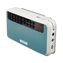Rolton E500 Portable Stereo Bluetooth Speakers FM Radio Clear Bass Dual Track Speaker TF Card USB Music Player