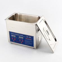 3L Stainless Steel Ultrasonic Cleaner with Heater Mechanical Commercial Grade For Electronic Components Jewelry Watch Glasses(China)