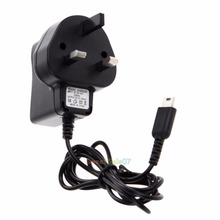 UK Travel Home Wall USB AC Power Adapter Charger for Nintendo DS Lite NDSL 0324