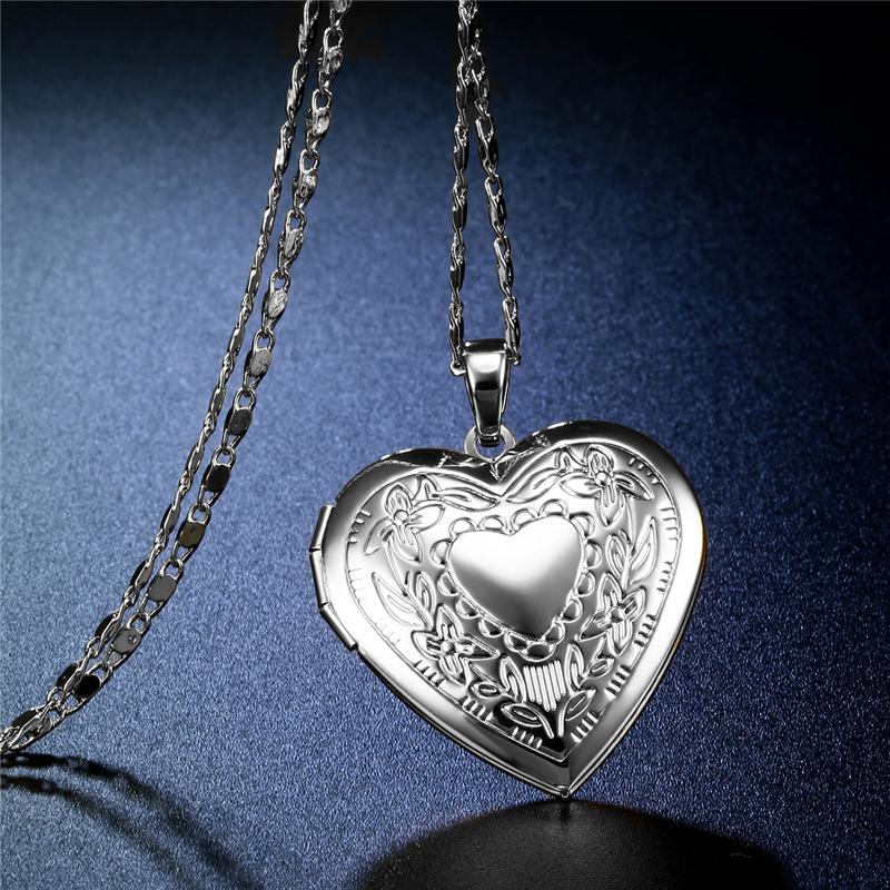 CWEEL Necklaces & Pendants Women Chain Vintage Long Necklace With Big Pendant Gold Color Fashion Statement Necklace  (3)