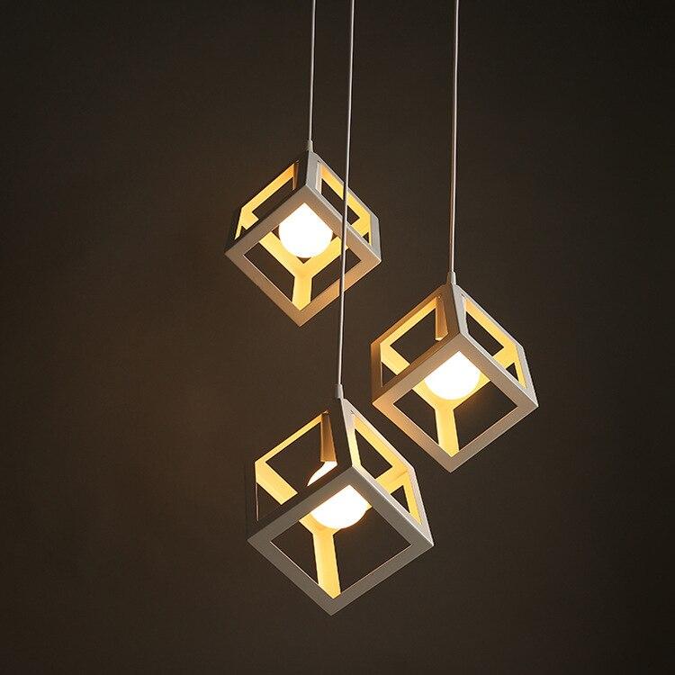 warehouse Black red  Iron Diamond industrial creative instrument pendant lights vintage restaurant lamp bar foyer pendant lamps<br>