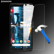 JONSNOW Tempered Glass for Google Pixel 2 XL / Pixel XL 2 Screen Protector 9H 2.5D Explosion-proof Clear LCD Glass 6 inch(China)